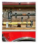 Fireman - Life Saving Tools Fleece Blanket