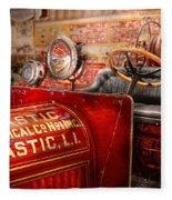Fireman - Mastic Chemical Co Fleece Blanket