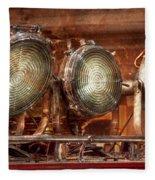 Fireman - Search Lights  Fleece Blanket