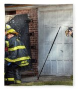 Fireman - Take All Fires Seriously  Fleece Blanket