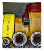 Fireman - The Fire Hose Fleece Blanket