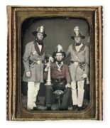 Firemen, C1855 Fleece Blanket