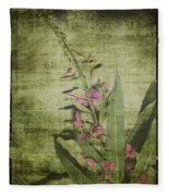 Fireweed - Featured In 'comfortable Art' Group Fleece Blanket