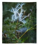 Fireweed Flame Out But Spreading Fleece Blanket