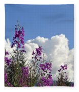 Fireweed Sky Fleece Blanket