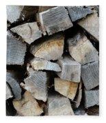 Firewood Fleece Blanket