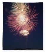 Fireworks 2 Fleece Blanket