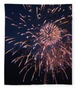 Fireworks 2014 Ix Fleece Blanket