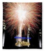 Fireworks Finale Fleece Blanket