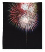 Fireworks For 4th Of July Fleece Blanket