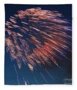 Fireworks Series I Fleece Blanket