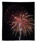 Fireworks Series Xiv Fleece Blanket