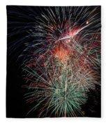 Fireworks6504 Fleece Blanket
