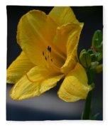 First Bloom - Lily Fleece Blanket