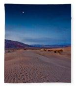 First Light Dunes Fleece Blanket