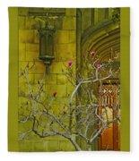 First Methodist Episcopal Church In Pasadena 1923 Fleece Blanket