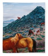 First Signs Of Spring Fleece Blanket