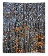 First Snow 3 Fleece Blanket