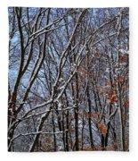 First Snow 4 Fleece Blanket