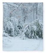 First Snow Fleece Blanket
