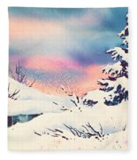 First Snow Fleece Blanket