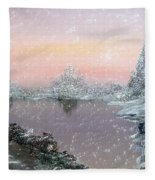 First Snowfall Fleece Blanket