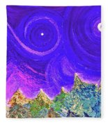 First Star Sunrise Fleece Blanket