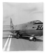 First Supersonic Aircraft, Bell X-1 Fleece Blanket