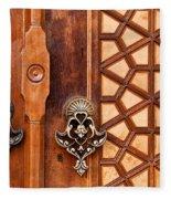 Firuz Aga Mosque Door 01 Fleece Blanket