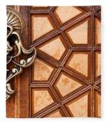Firuz Aga Mosque Door 03 Fleece Blanket