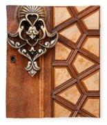 Firuz Aga Mosque Door 04 Fleece Blanket