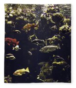 Fish Aquarium Fleece Blanket