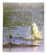Fish-img-0717-004 Fleece Blanket