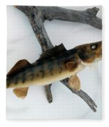 Fish Mount Set 02 A Fleece Blanket