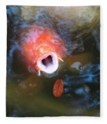 Fish Mouth Fleece Blanket