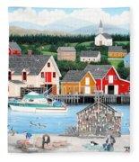 Fisherman's Cove Fleece Blanket