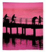 Fishermen Fleece Blanket
