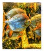 Fishfull Thinking Fleece Blanket