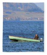 Nautical Fleece Blanket