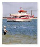 Fishing Fantasy Fleece Blanket