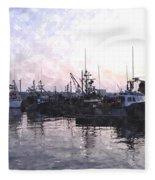 Fishing Fleet Ffwc Fleece Blanket
