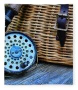 Fishing - Fly Fishing Fleece Blanket