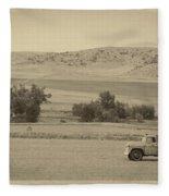 Fishtail Montana Fleece Blanket
