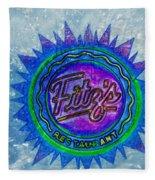Fitz's Inverted With A Splash Fleece Blanket