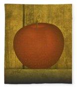 Five Apples  Fleece Blanket