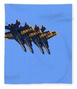 Four Hornets In Close Trail Fleece Blanket