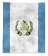 Flag Of Guatamala Fleece Blanket