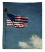 Flag - Still Standing Proud - Luther Fine Art Fleece Blanket