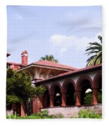 Flagler College Fleece Blanket