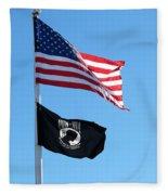 Flags Fleece Blanket